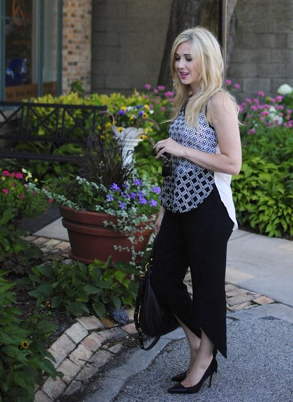 black tulip pants