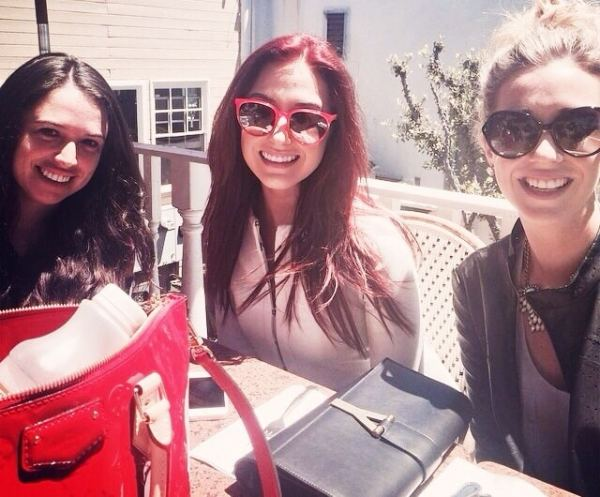 nina campbell, jaclyn hill, rachel barkules lunch in laguna beach