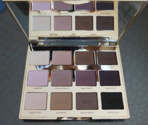 tarte tartlette eyeshadow palette