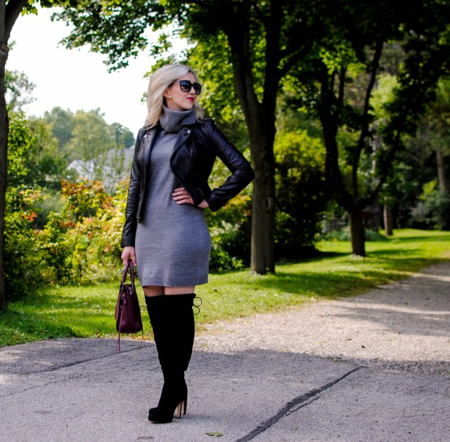 cupcakes and cashmere Mandeville sweater dress