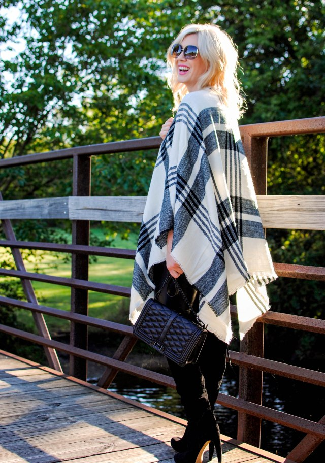 rebecca mink love handbag black