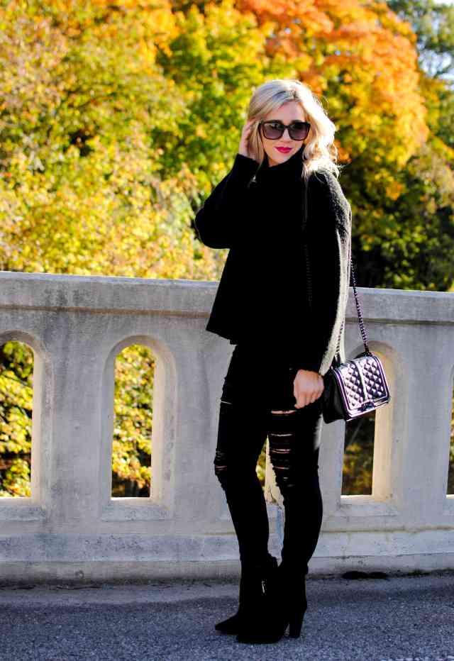 black fall style