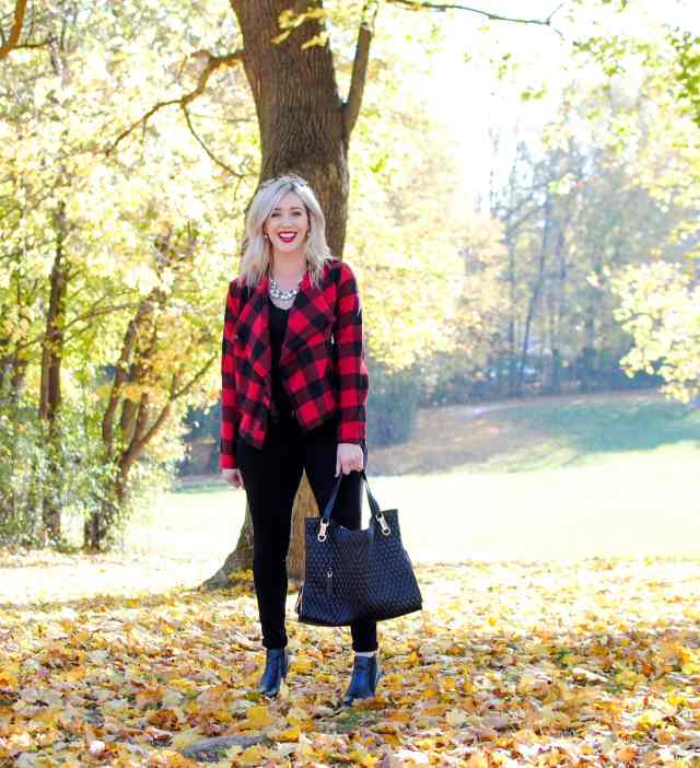 plaid jacket for fall