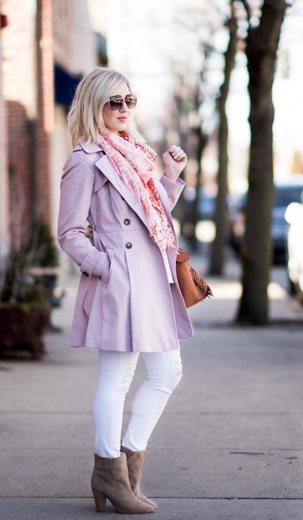 fresh spring look, pantone spring color palette