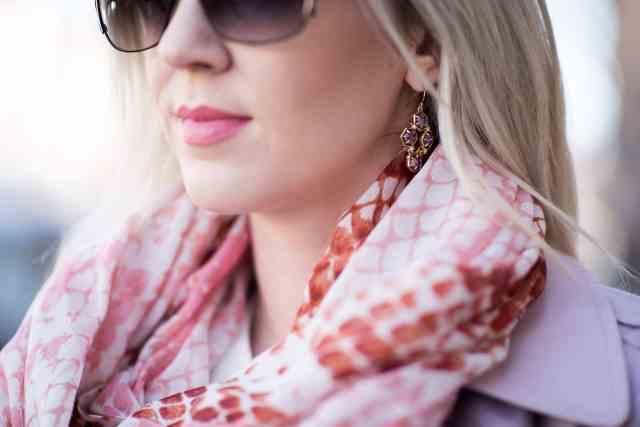 nordstrom snake print scarf