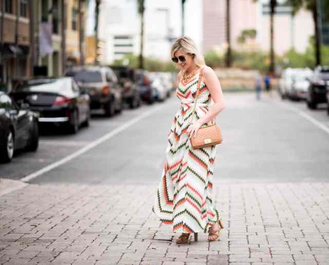 spring fashion, maxi dress