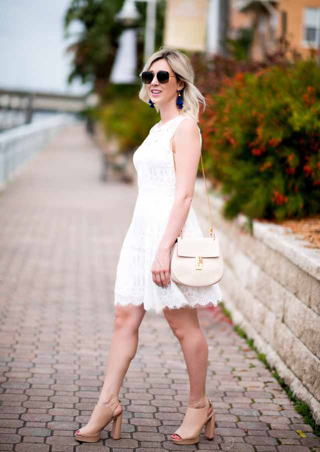 adelyn rae sleeveless fit & flare dress