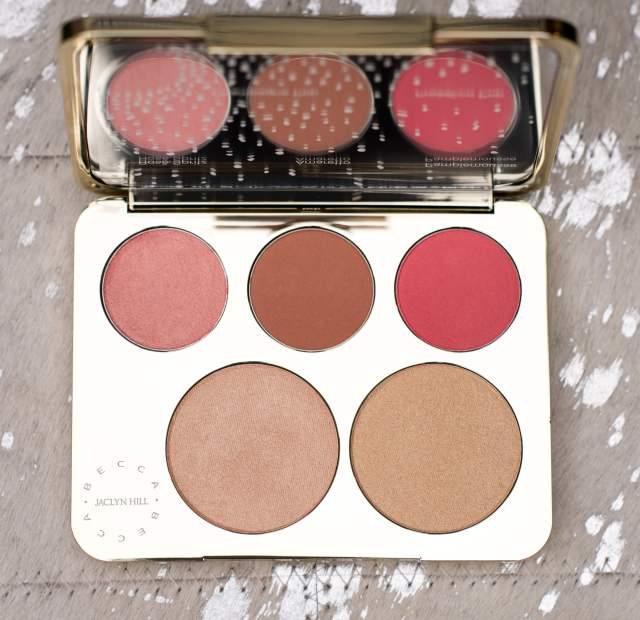 becca & jaclyn hill champagne collection face palette