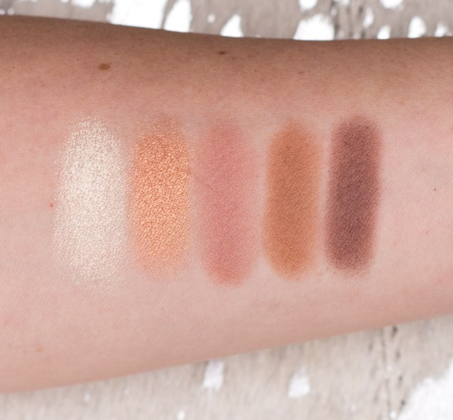 becca & jaclyn hill champagne collection eye palette swatch