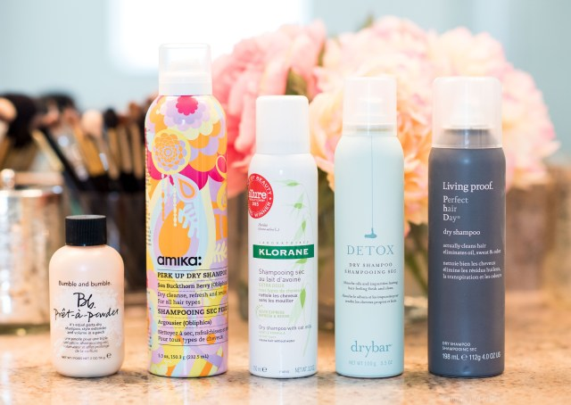 best of dry shampoo