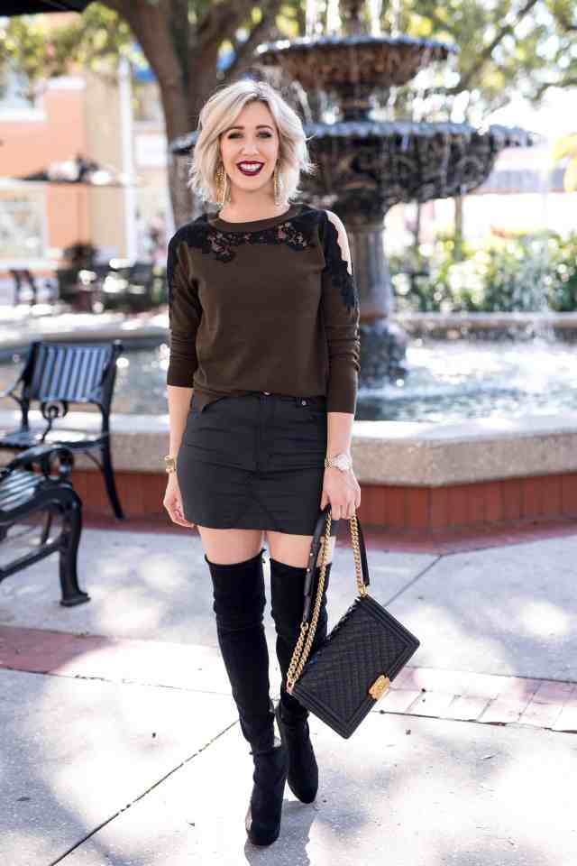 topshop coated denim miniskirt