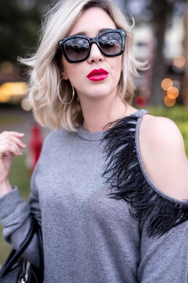 Ro & De Feather Sweatshirt
