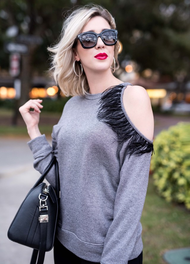 Ro & De Feather Sweatshirt