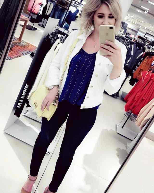 shopping at Nordstrom