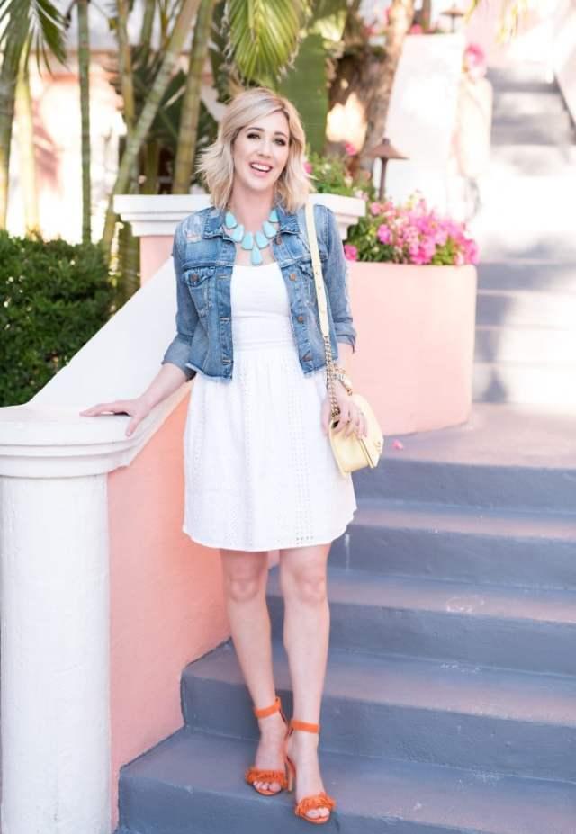 A by Amanda Delia Skate Dress
