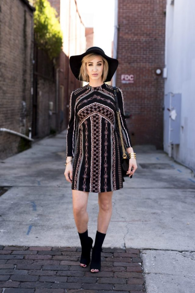 free people Stella Graphic Print Minidress