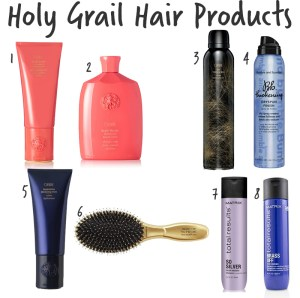holy grail hair products