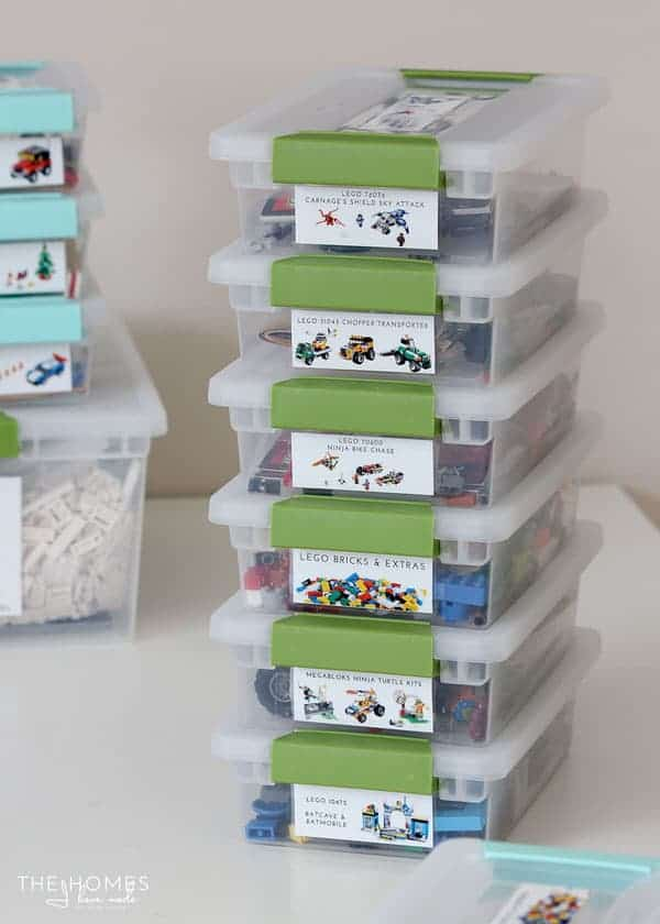 Lego Storage Ideas | AWESOME Lego storage ideas to keep your kids sets minifigs and & Lego Storage Ideas to Help You Organize All Your Pieces Sets and ...