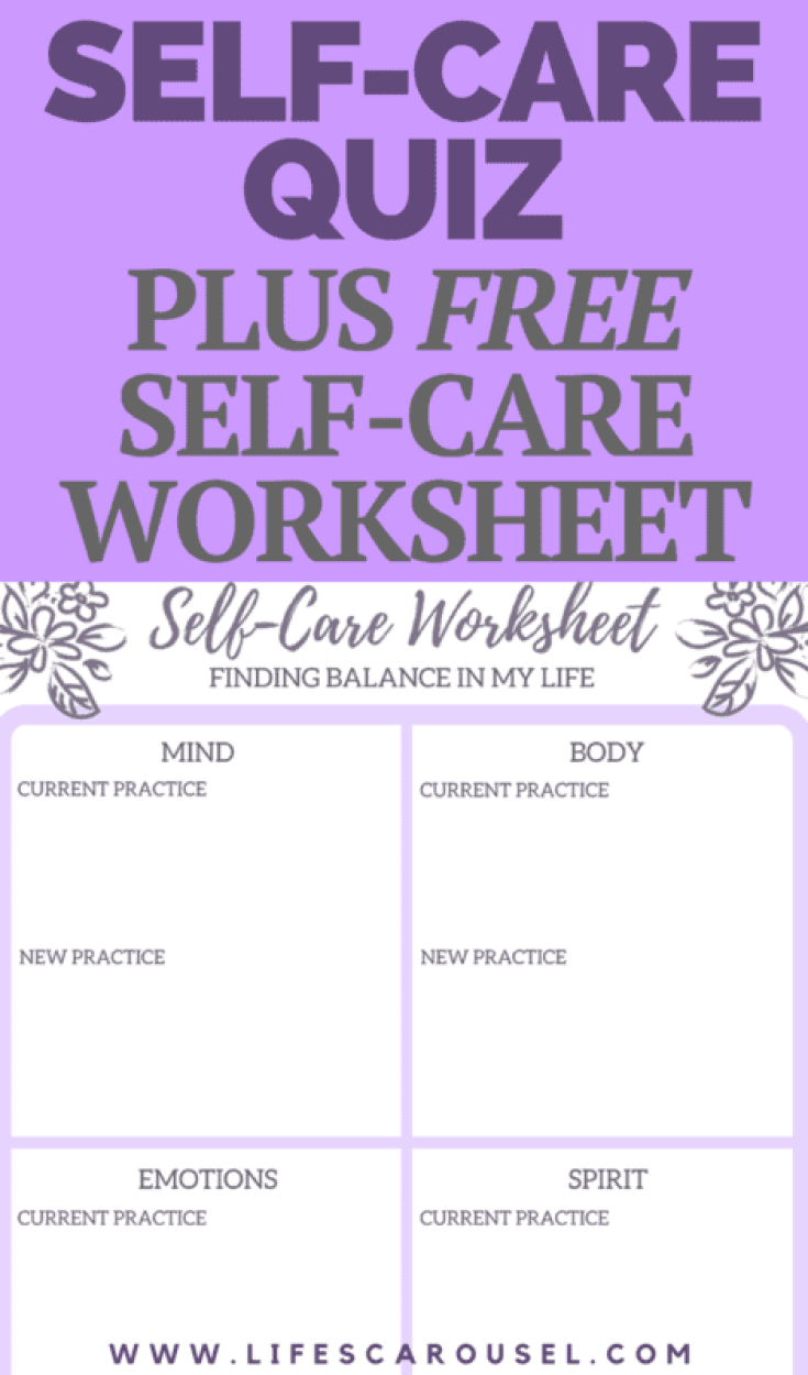 Self Care Assessment To Find Balance In Your Life
