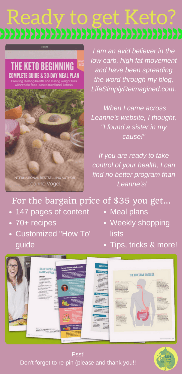Keto Beginning Ketogenic Diet program Pin