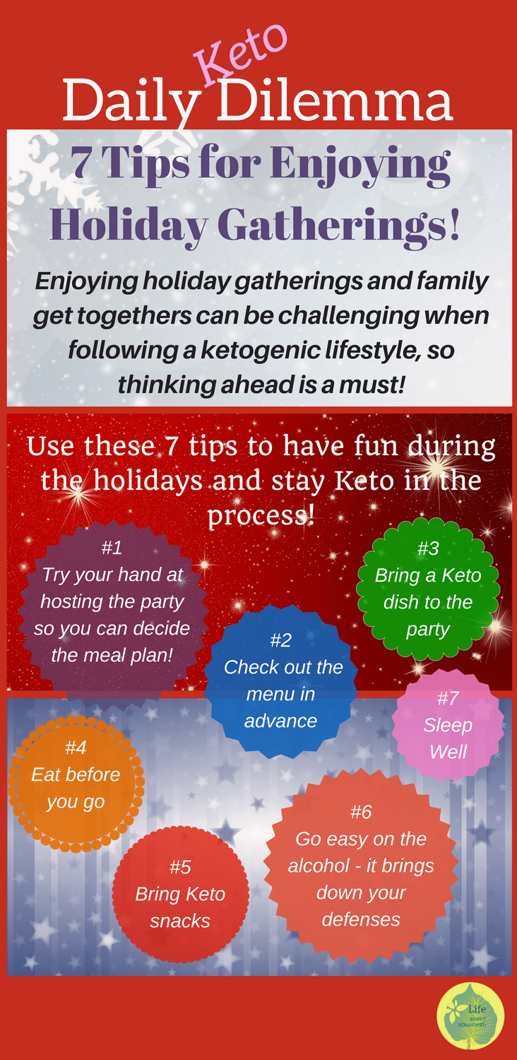 Ketogenic diet tips for the holidays
