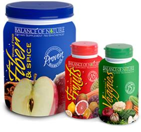 Balance of Nature wholefood supplements for natural health
