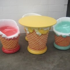 Ice Cream Table And Chairs Outdoor Wooden Rocking Furniture Set Jr Max003 The Jolly Roger Life Size 3d Thumbnail 01