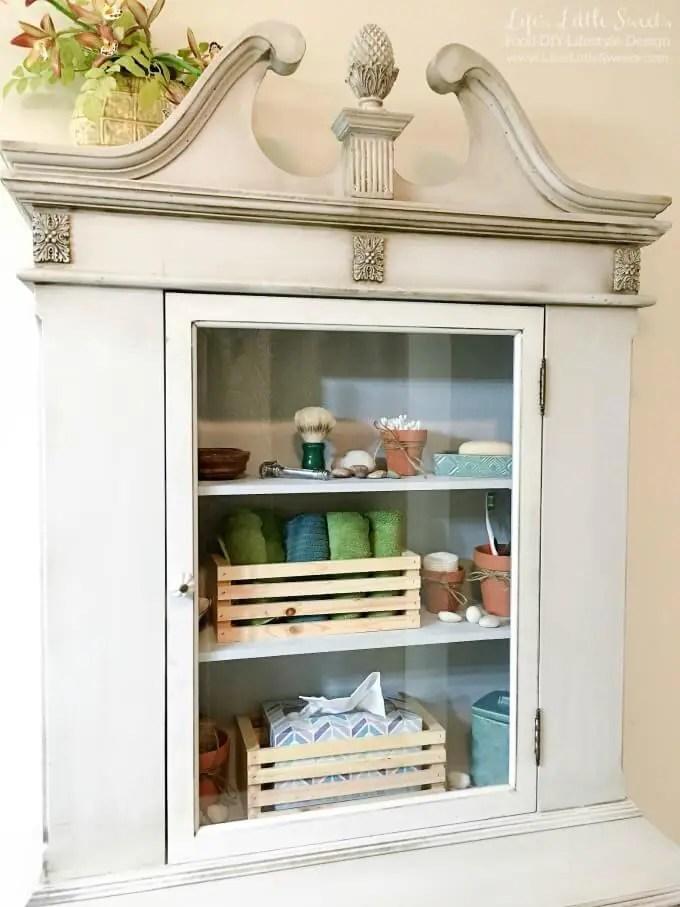 Tips to Organize Bathroom Open Shelves  Scotch Brite