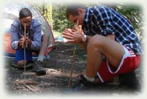 Wilderness Immersion Adult Outdoor Survival Training CA - 28 days