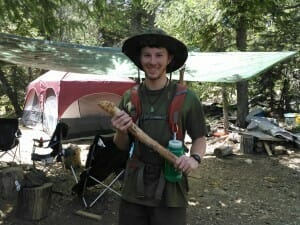 Teen apprentice 28 day wilderness survival training CA