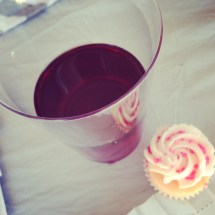 Cupcakes in Wine Glasses