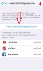 trust apple id in device management