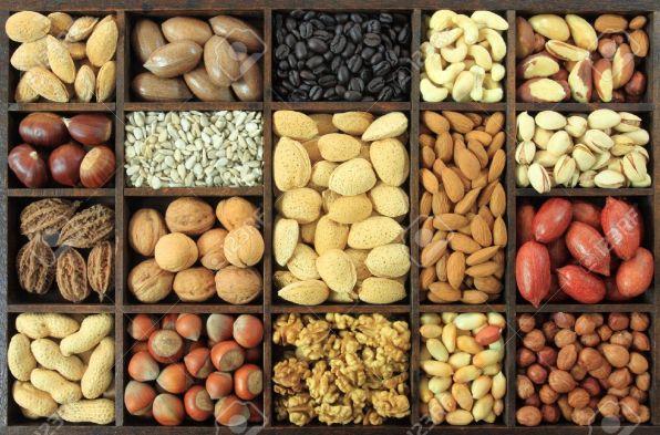 almond, sunflower seeds - lifestan