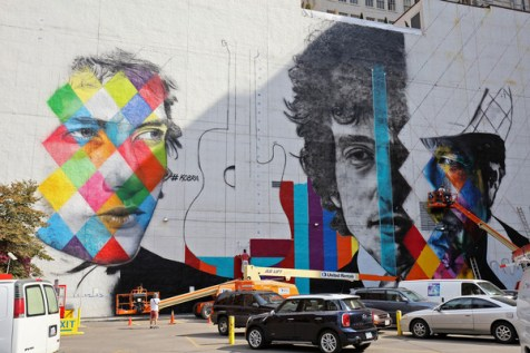 Bob Dylan Mural 6