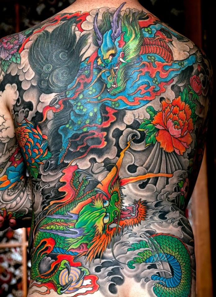 tatuaggi giapponesi schiena