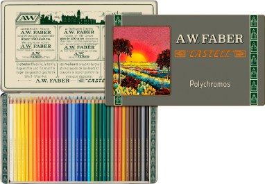 Colour Pencil Polychromos 36ct tin 111th