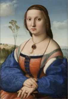 Raffaello Sanzio, Ritratto di Maddalena Strozzi