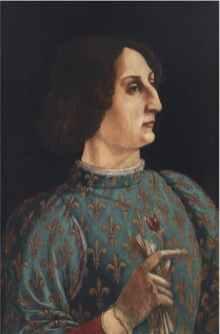 Piero del Pollaiolo, Ritratto di Galeazzo Maria Sforza