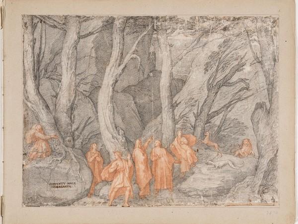 Dante Alighieri mostra disegni Uffizi