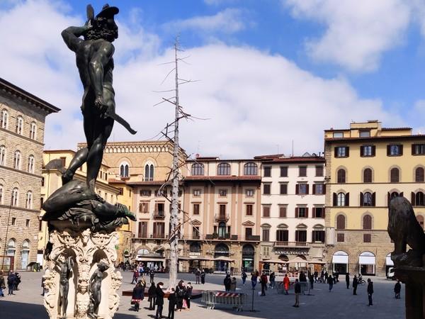 Giuseppe Penone Abete Uffizi Firenze