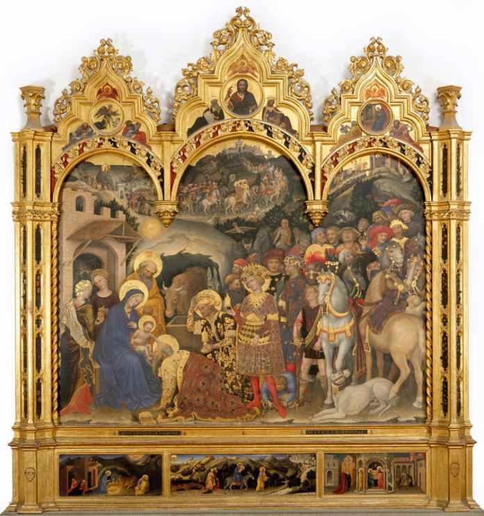 Adorazione dei Magi Botticelli