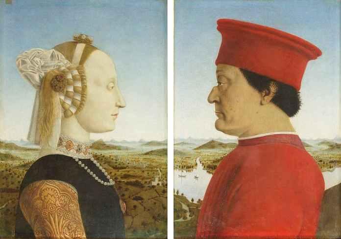 Duchi Urbino Piero della Francesca