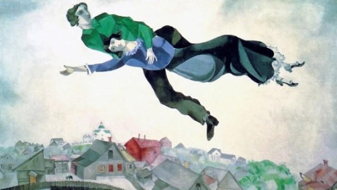 Marc Chagall Sopra la città
