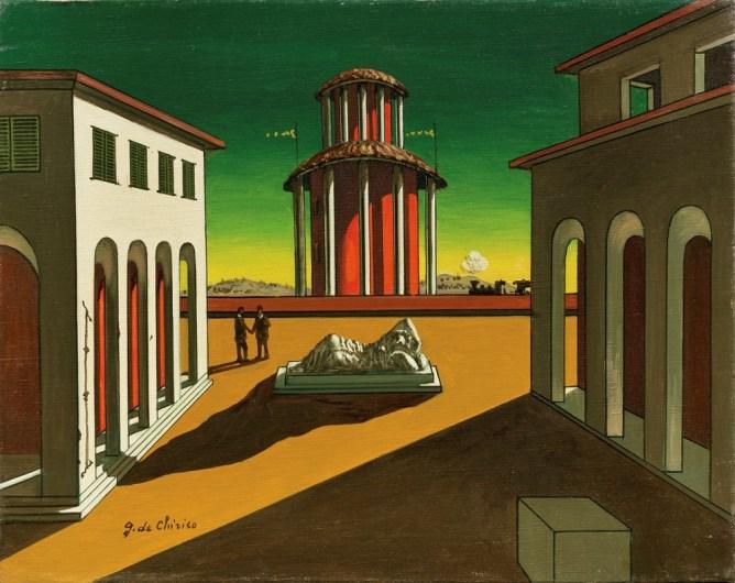 Giorgio De Chirico arte curiosità