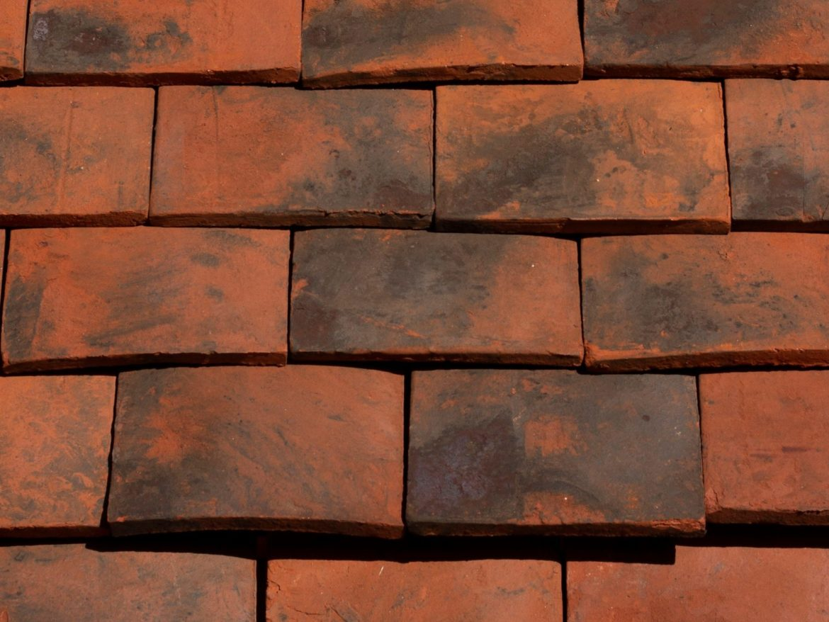 check the quality of clay roof tiles