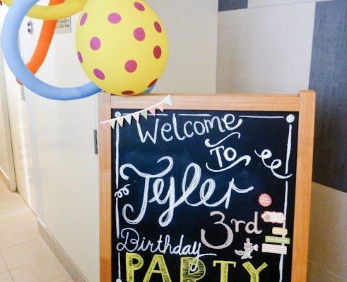DIY Fantastic Mr. Fox Big Top Party!