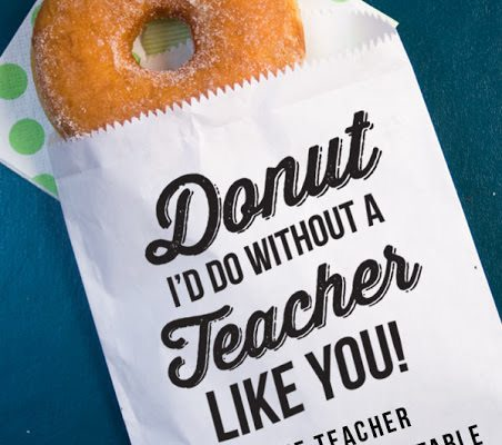 15 Awesome Teachers' Day Gift Ideas with Free Printables!