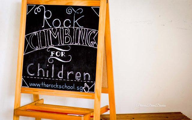 Weekend Wandering: Kids Rock Climbing at The Rock School, Singapore!