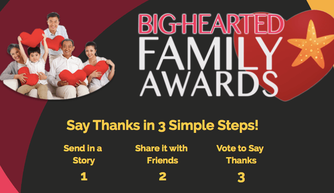 The Big Hearted Family Awards – Because it takes a village