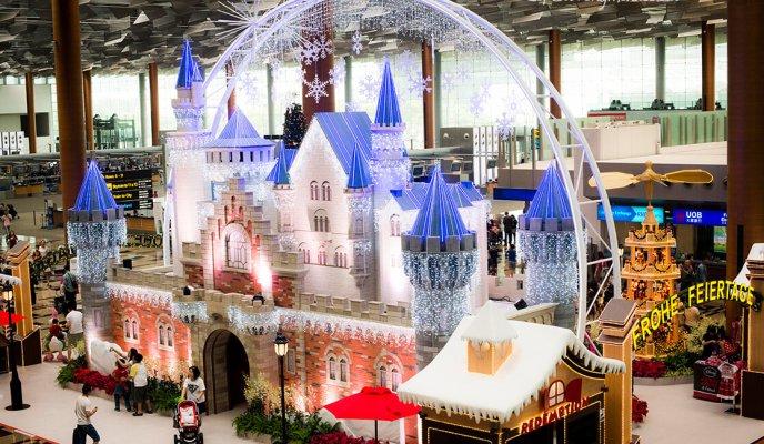 A Magical Jet-Setting Christmas at Changi Airport 2014